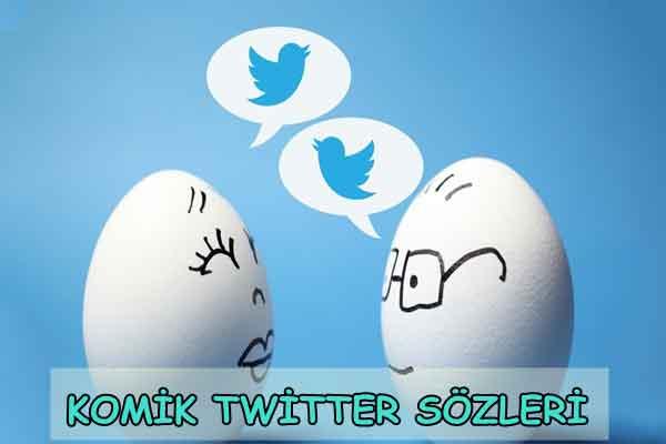 Komik Twitter Sözleri