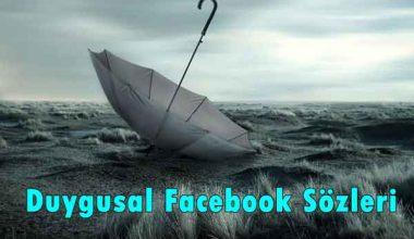 Duygusal Facebook Sözleri