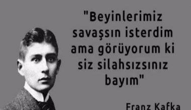 Franz Kafka Sözleri,Franz Kafka Aforizmaları