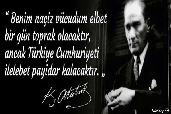 Atatürkün Sözleri