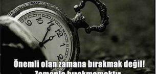 Zaman Sözleri