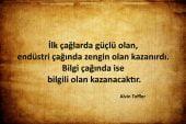 Alvin Toffler Sözleri