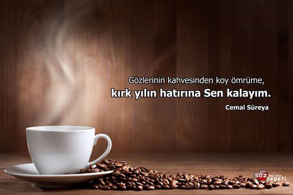 Kahve İle İlgili Güzel Sözler