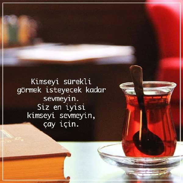 Çay İle İlgili Güzel Sözler
