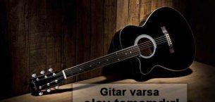 Gitar İle İlgili Sözler