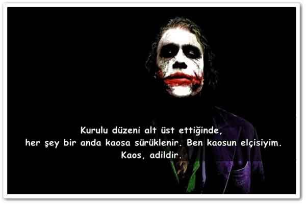 En Güzel Joker Sözleri