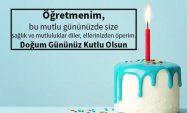 Öğretmene Doğum Günü Mesajı