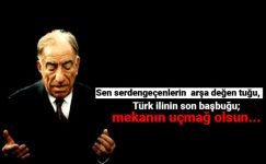 Alparslan Türkeşi Anma Mesajları,Başbuğ Alparslan Türkeş ölüm yıldönümü mesajları