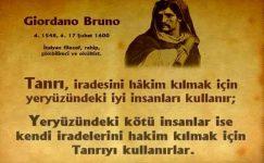 Giordano Bruno Sözleri